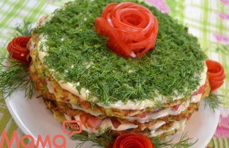 Кабачковий торт – рецепт