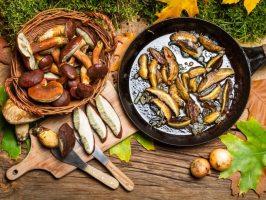4 страви з лісових грибів