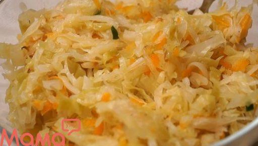 Запечена в духовці капуста: гарнір і начинка для пиріжків в пакеті