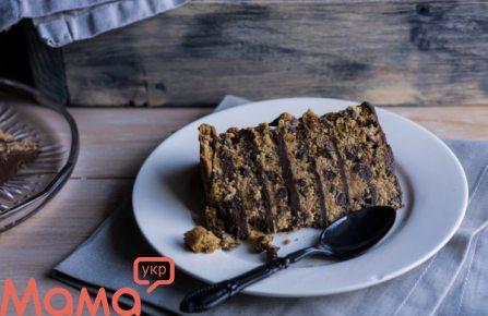 Торт без випічки «8 березня»