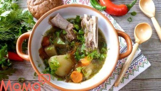 Шулюм з бараниною і овочами
