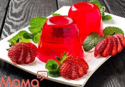 Низькокалорійний десерт: фруктове желе