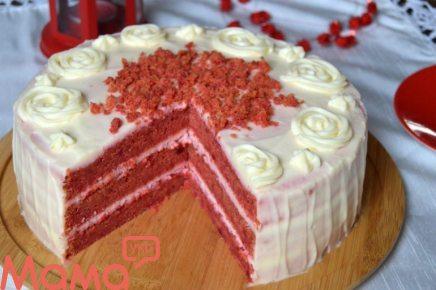Ніжний сирний крем для самого смачного торта «Червоний оксамит»