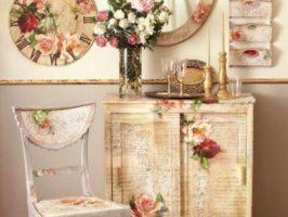 Декор меблів своїми руками – відмінне хобі для пенсіонерок!
