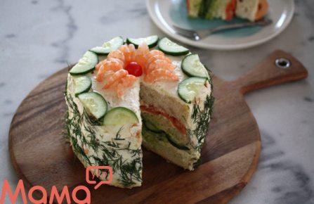 Бутербродний торт