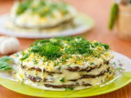 2 незвичайних рецепту з печінки: торт і пень