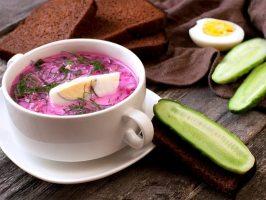 4 смачних холодних супу (+ фото)