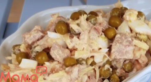Смачний салат «Далекосхідний»