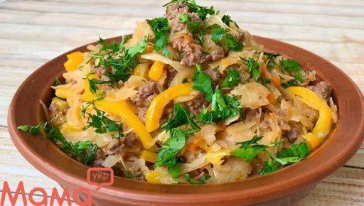 Капуста по-селянськи на обід або вечеря: що може бути простіше і смачніше?