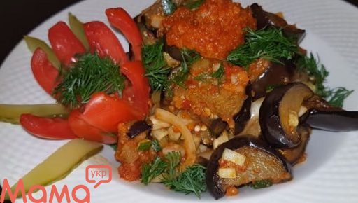 Очманілий салат з баклажанами: до шашлику і будь-якого м'яса