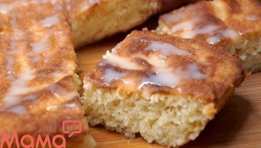Пиріг «Загадка» з незвичайного бісквіта: царський смакота