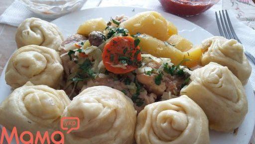 Німецькі штруделі-тісто на кефірі