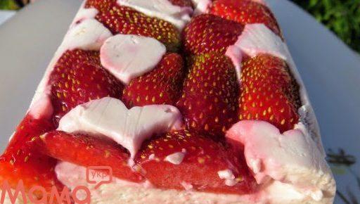 Кращий десерт без випічки. Чудова ніжність «Полунично — банановий террін»