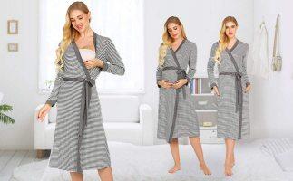 Як вибрати Халати і Ночнушки для вагітних і годуючих мам