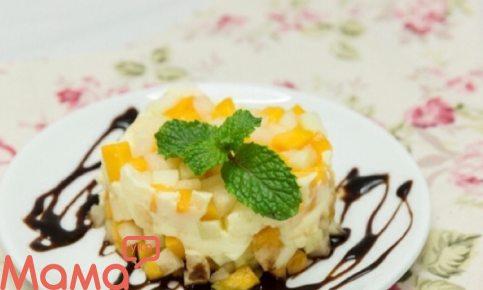 Чудовий фруктовий десерт, який не залишить байдужим нікого