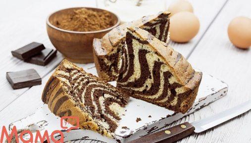 Пиріг «Зебра»