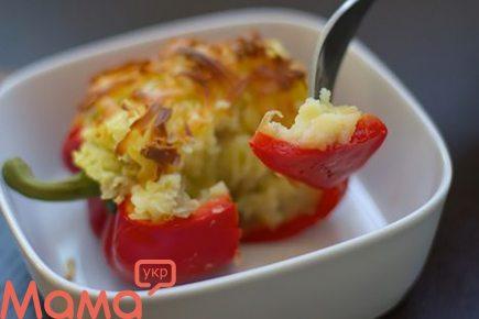 Перець, фарширований картоплею (пісне страву)