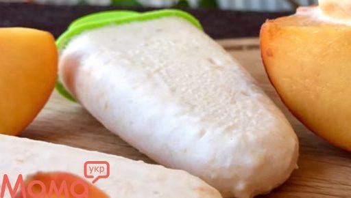 Йогуртове морозиво з персиками: немає нічого простіше