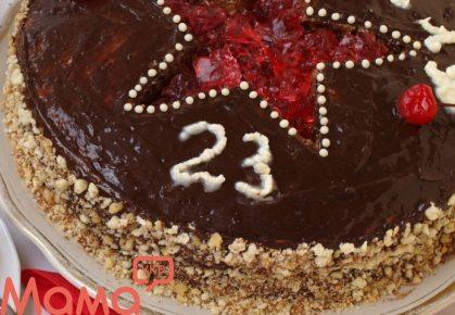 Торт «23 лютого»