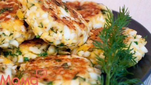 Апетитні яєчні котлетки
