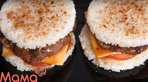 Бургер «Самурай» з соковитою котлетою