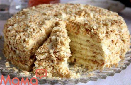 Торт «Хвилинка» без випічки