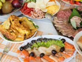 2 варіанти оригінальної закуски на святковий стіл