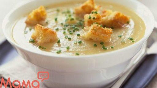 Крем-суп з цвітної капусти і картоплі