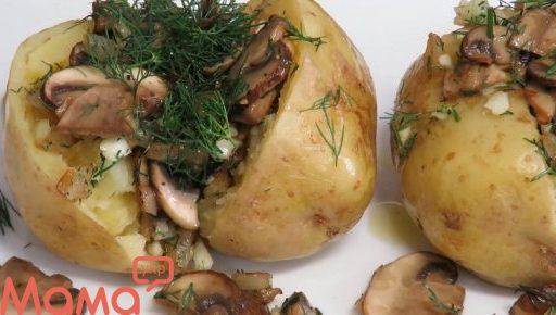 Диво картопля за 10 хвилин з грибами та цибулею: супер вечерю на швидку руку