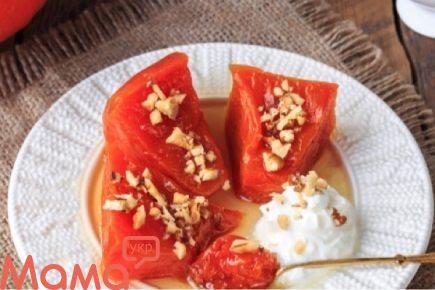 Чудовий турецький десерт з гарбуза