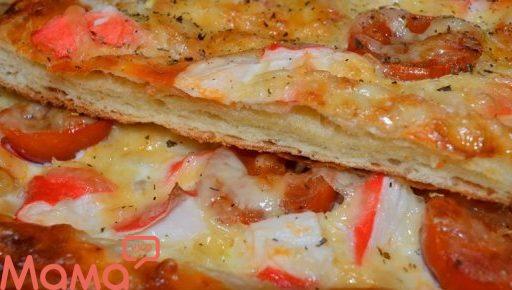 Швидкий смачний пиріг: це вам не піца!!!