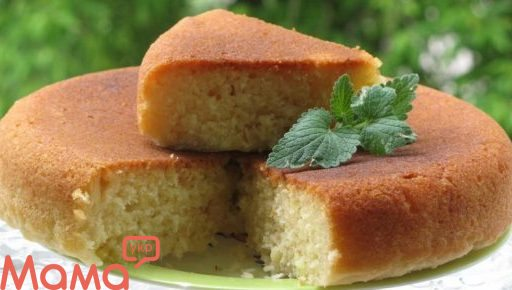 Дуже смачний десерт — маннік на кефірі
