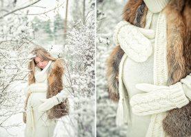 Як одягатися вагітним холоду