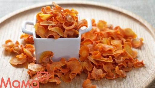Відмінний варіант перекусу: морквяні чіпси