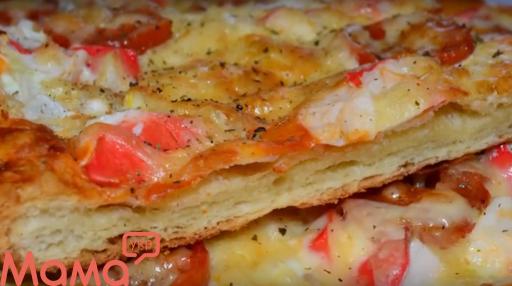 Це вам не піца! Швидкий пиріг