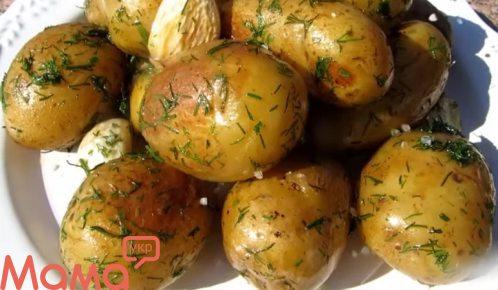 Молода картопля в казані: геніально, просто, смачно