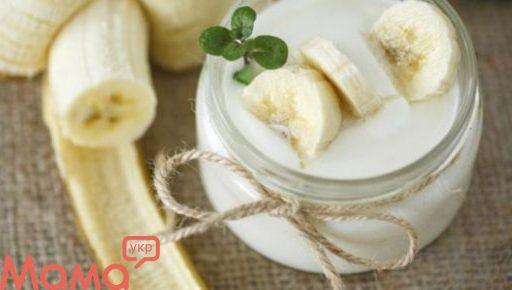 Ніжний і легкий кефірно-банановий десерт
