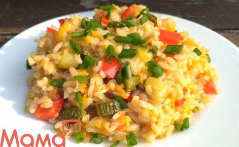 Особливий рис з овочами: секрет приготування мега смачного рису