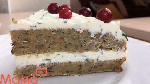 Грибний закусочний торт на великодній стіл: рецепт вас здивує