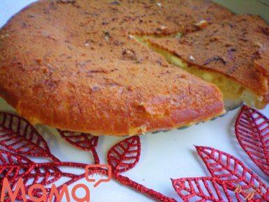 Чудовий сирний пиріг (готуємо в мультиварці)