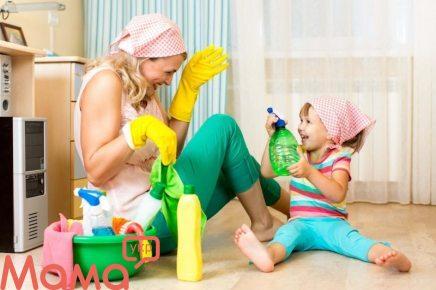 Дитина і домашні обов'язки: коли і з чого починати прищеплювати любов до порядку