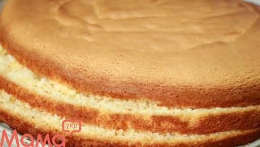 Бісквіт для торта «7 склянок»