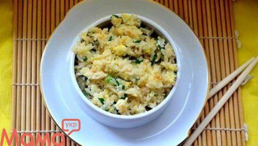 Незвичайний гарнір: рис з часником по-японськи