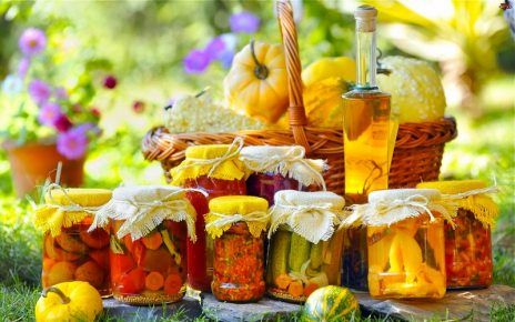 Як правильно консервувати овочі та фрукти