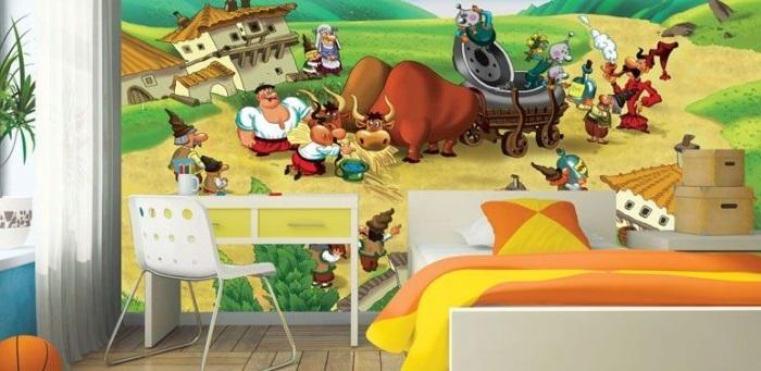 Шпалери для дитячої кімнати