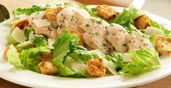 салат з вареної куркою