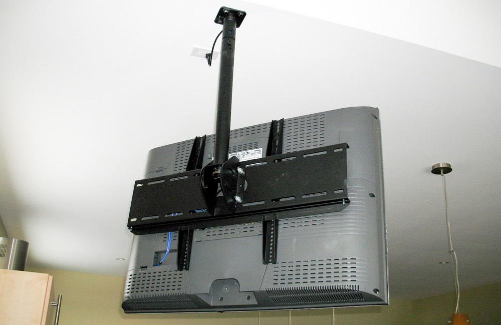 крепление для телевизора на потолок